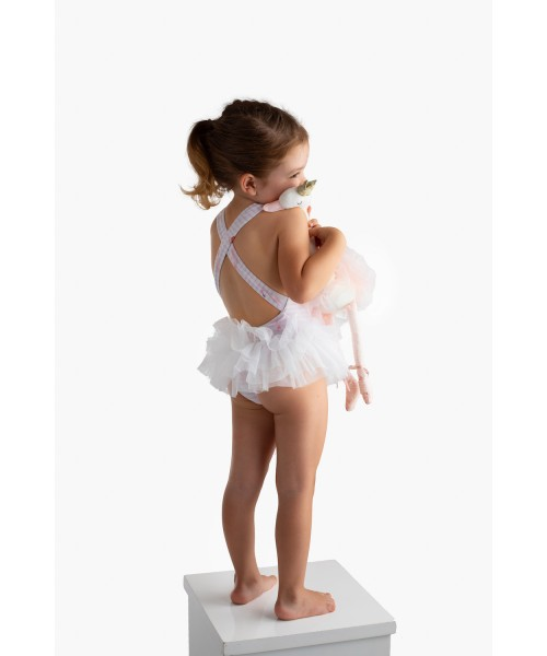 Meia Pata SS21 Girls Unicorn Swimsuit TENERIFE (picture for style only)